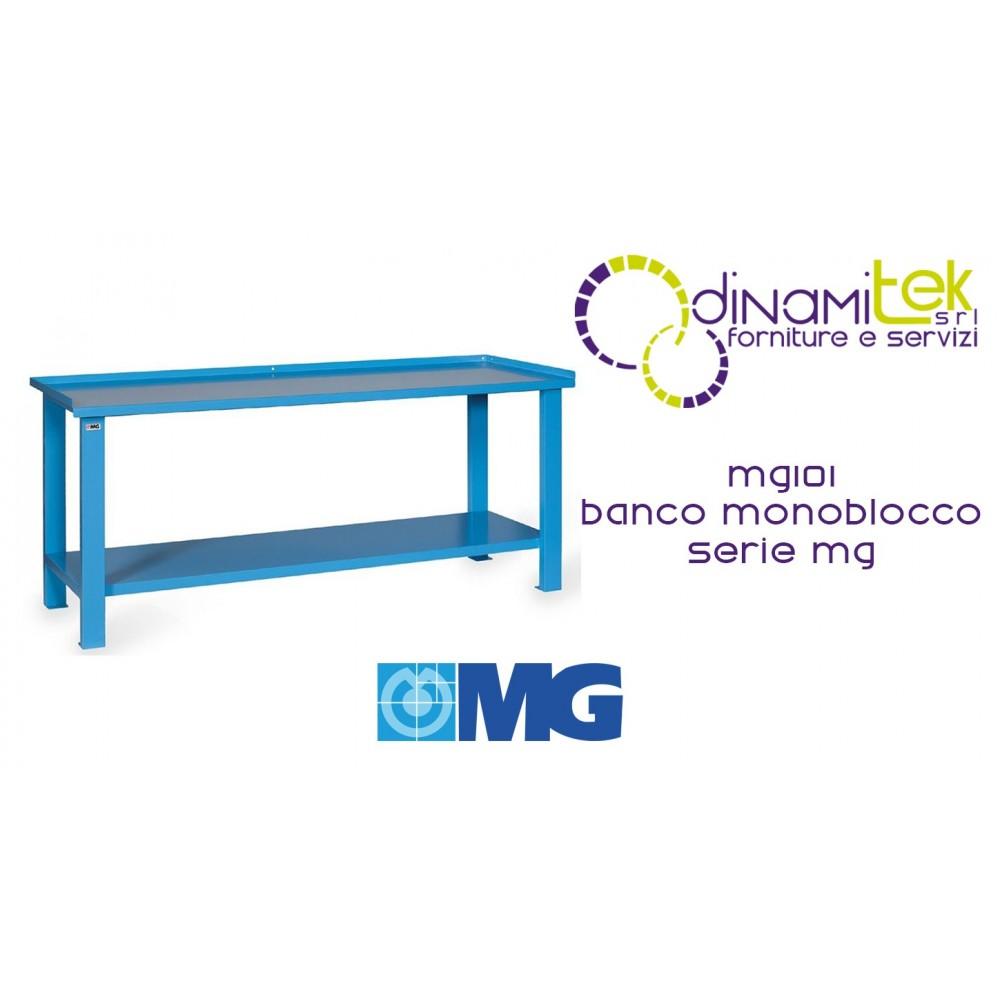 PLATEAU DE TABLE MONOBLOC MG101 EN TôLE MM 1000X700X890H SéRIE MG MG Dinamitek 1