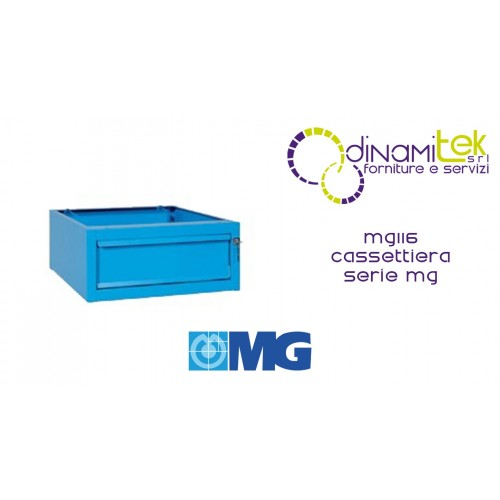 MG116 CHEST OF DRAWERS FOR COUNTERS 1 DRAWER MM 505X620X224H MG MG SERIES Dinamitek 1