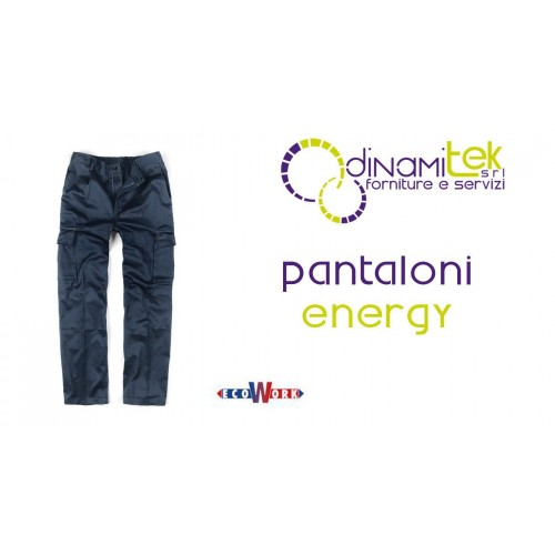 14030B PANTALONES DE TRABAJO DE LA ENERGíA Dinamitek 1
