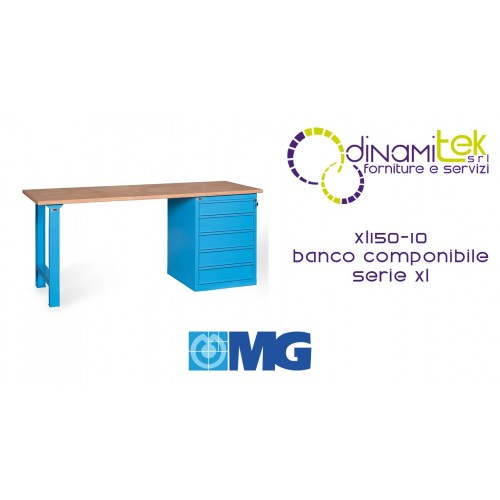 MG XL150-10 BANCO COMPONIBILE SERIE XL Dinamitek 1