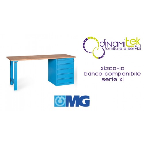 MG XL200-10 BANCO COMPONIBILE SERIE XL Dinamitek 1
