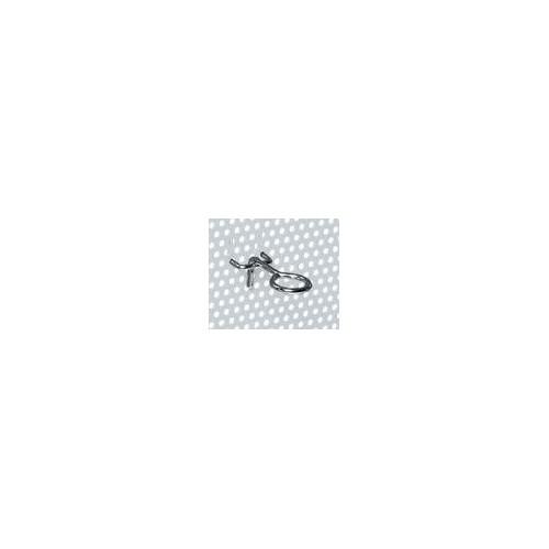 MG505 1B CROCHETS DE TOURNEVIS à œIL POUR PANNEAUX MG PACK DE 100 PCS Dinamitek 2