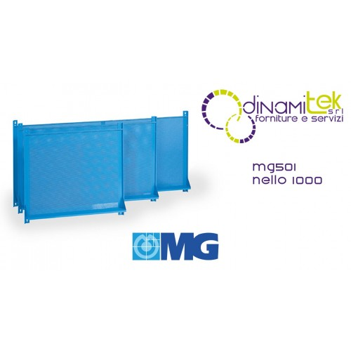 MG501 TOOL HOLDER PANEL WITH HOLES FOR WALL MM 1000X850H MG Dinamitek 1