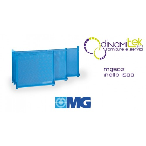 MG502 TOOL HOLDER PANEL WITH HOLES FOR WALL MM 1500X850H MG Dinamitek 1