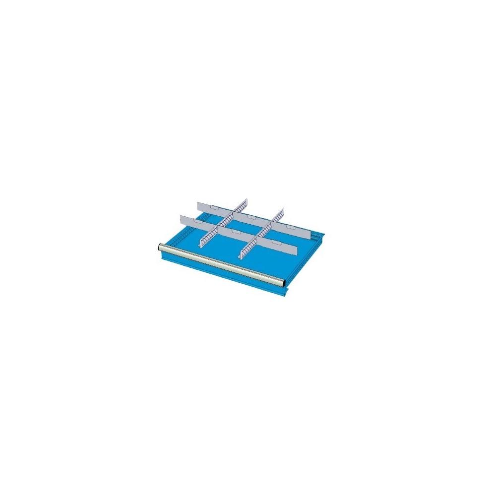 SD15013 SEPARADORES RL PARA CAJONES MM 150 CON 2 SEPARADORES RANURADOS 27 U 6 SEPARADORES TRANSVERSALES 12 U MG LíNEA MIDI-RX Dinamitek 2