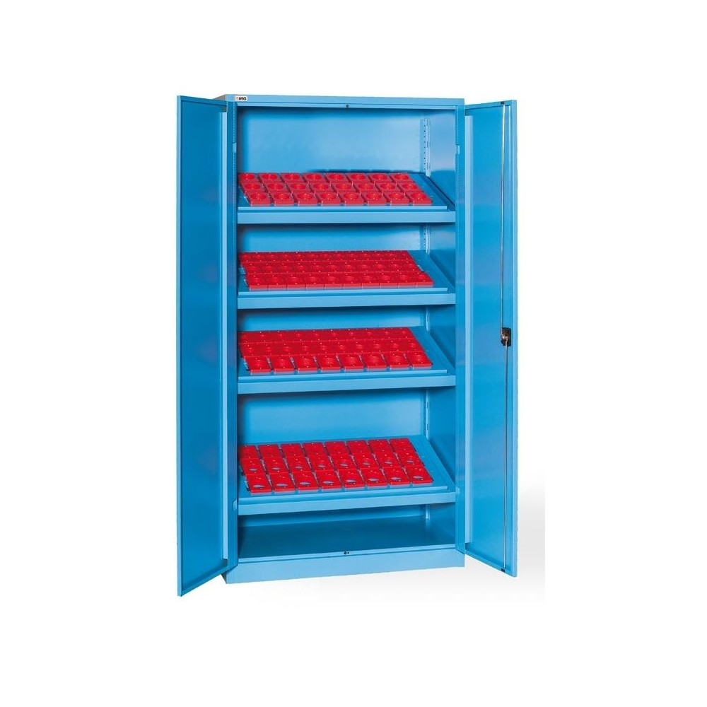 AN1000 01 WARDROBE WITH DOORS WITH 4 FRAMES FOR BUSHINGS (BUSHINGS EXCLUDED) MM 1023X555X2000H MG Dinamitek 2