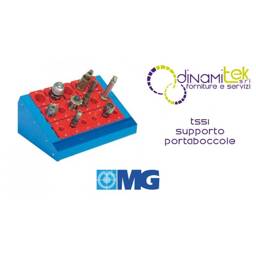TS51 METAL SUPPORT FOR BENCH BUSHINGS (BUSHINGS EXCLUDED) MM 600X400X255H MG Dinamitek 1