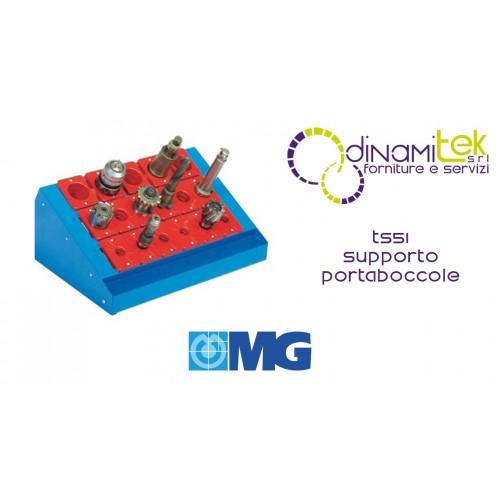 TS51 SOPORTE METáLICO PARA CASQUILLOS DE BANCO (CASQUILLOS EXCLUIDOS) MM 600X400X255H MG Dinamitek 1