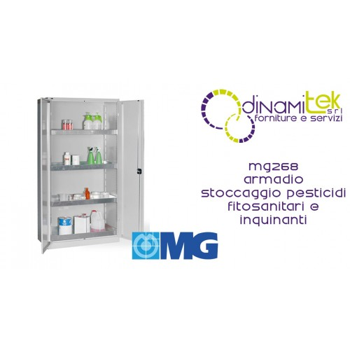 MG268 CABINET FOR PESTICIDE, PHYTOSANITARY AND POLLUTING STORAGE MG Dinamitek 1