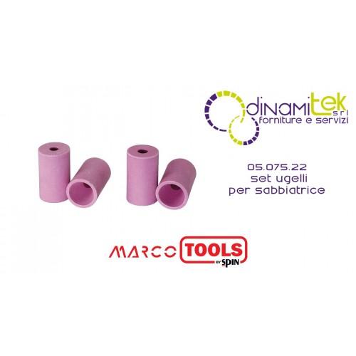 05.075.22 JEU DE BUSES POUR SABLAGE SPIN MARCO TOOLS Dinamitek 1