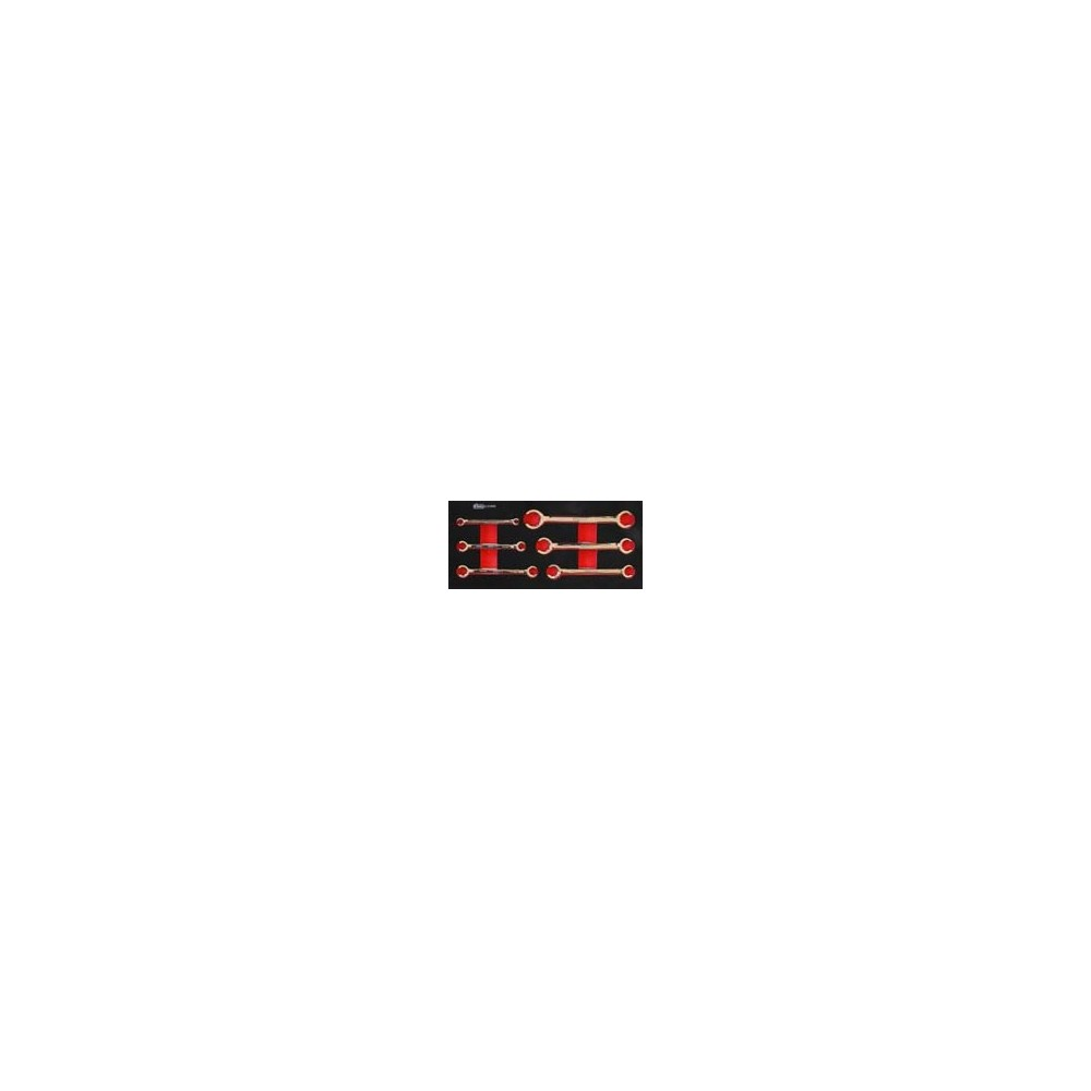 SPIN 05.090.35 SET 6PCS CHIAVI PER TUBI FRENI Dinamitek 2