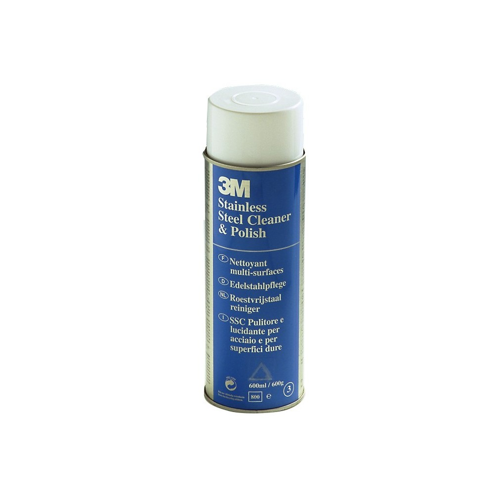 CLEANER SPRAY STAINLESS STEEL SSC 600 ML 3M Dinamitek 2