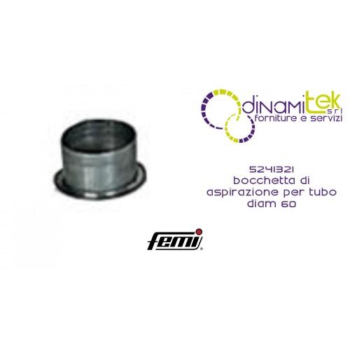 5241321 SUCTION NOZZLE FOR D.60 FEMALE TUBE Dinamitek 1