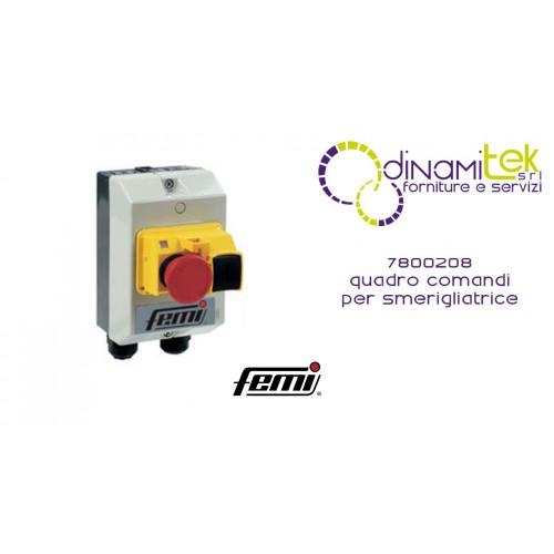 FEMI 7800208 QUADRO COMANDI PER SMERIGLIATRICE TRIFASE 450-750W Dinamitek 1