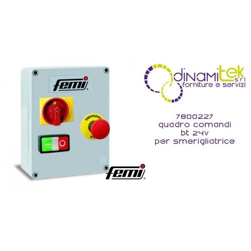 7800227 PANEL DE CONTROL BT 24V FEMI AMOLADORA Dinamitek 1