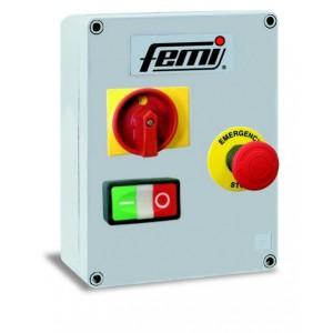 FEMI 7800230 QUADRO COMANDI BT 24V PER SMERIGLIATRICE 1100-1500W 1 VELOCITA' Dinamitek 2