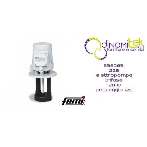 FEMI 8380831 228 ELETTROPOMPA TRIFASE 120W-PESCAGGIO 120 Dinamitek 1