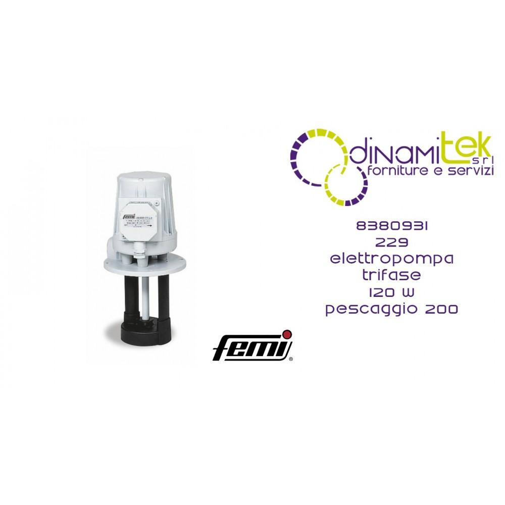 229 ELECTRIC PUMP CODE 8380931 FEMI Dinamitek 1