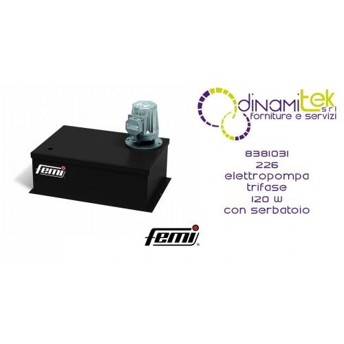 226 ELECTRIC PUMP CODE 8381031 FEMI Dinamitek 1