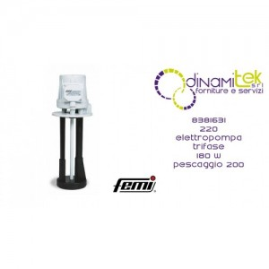 FEMI 8381631 220 ELETTROPOMPA TRIFASE 180W-PESCAGGIO 200 Dinamitek 1