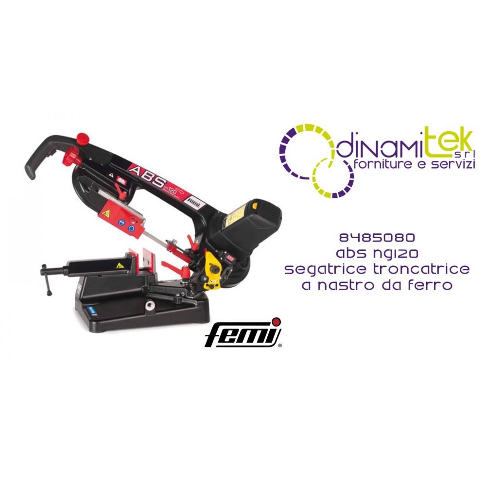 FEMI 8485080 ABS NG120 SEGATRICE TRONCATRICE A NASTRO DA FERRO PROFESSIONALE Dinamitek 1