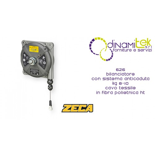 626 BALANCER WITH ZECA ANTI-FALL SYSTEM KG 8-10 STAINLESS STEEL CABLE Dinamitek 1