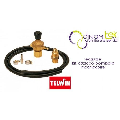 802708 CONNECTION KIT FOR TELWIN REFILLABLE CYLINDER Dinamitek 1