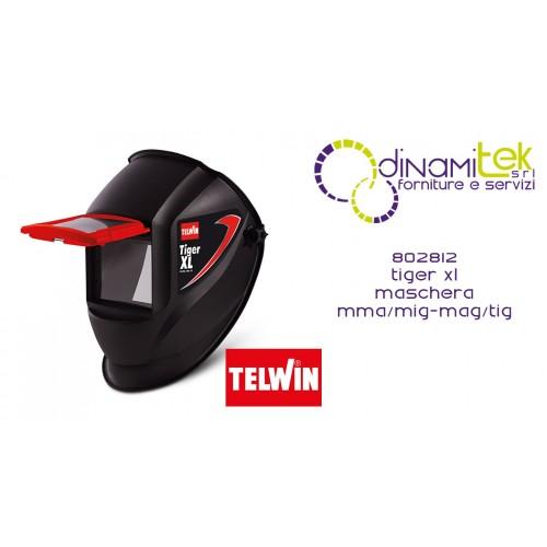 TELWIN 802812 TIGER XL MASCHERA MMA-MIG-MAG-TIG Dinamitek 1