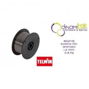 802145 ACCESSORIO SALDATRICE BOBINA FILO ANIMATO 1.2 mm 0.8 kg TELWIN Dinamitek 1