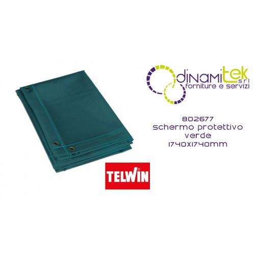 802677 ACCESSORIO MASCHERA SCHERMO PROTETTIVO VERDE 1740 x 1740 mm TELWIN Dinamitek 1