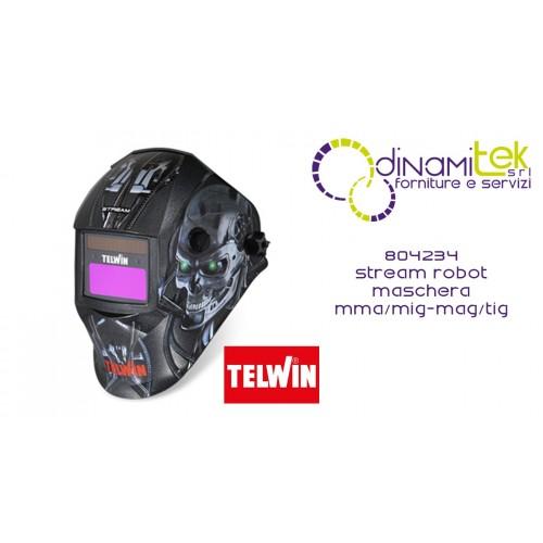 804234 STREAM ROBOT MASCHERA MMA/MIG-MAG/TIG TELWIN Dinamitek 1