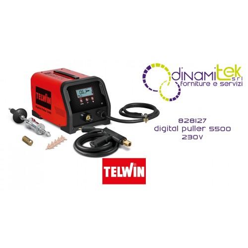 828127 SPOT DIGITAL PULLER 5500 230V TELWIN Dinamitek 1