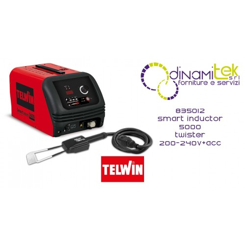 835012 SPOT SMART INDUCTOR 5000 TWISTER 200-240V + ACC. TELWIN Dinamitek 1