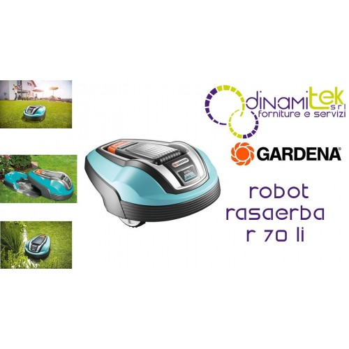 R70 LI ROBOT MOWER GARDENA LAWN UP TO APPROX 700M2 Dinamitek 1