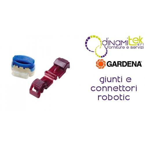 JOINTS AND CONNECTORS FOR ROBOT MOWER R LI GARDENA Dinamitek 1