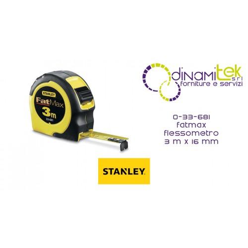 33-681 CINTA MéTRICA FATMAX STANLEY DE 3 MX 16 MM Dinamitek 1
