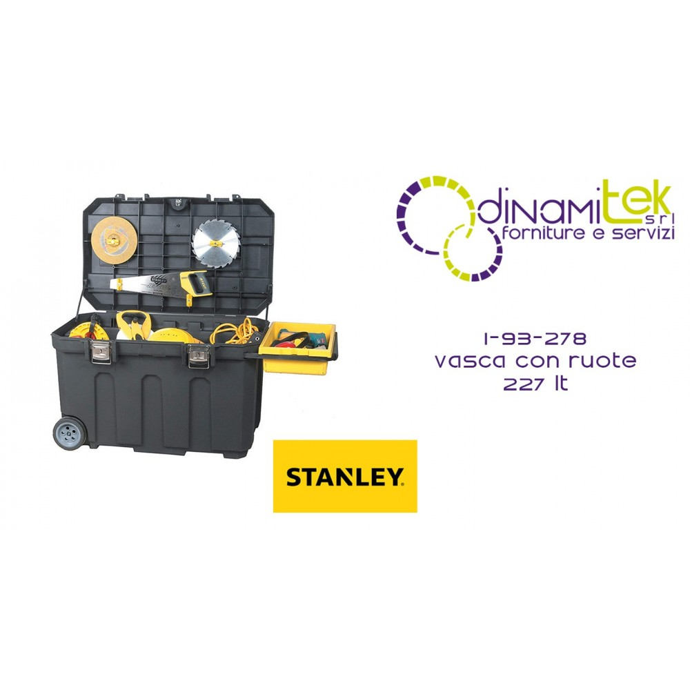 1-BOX WITH WHEELS 227 LT 93-278 STANLEY Dinamitek 1