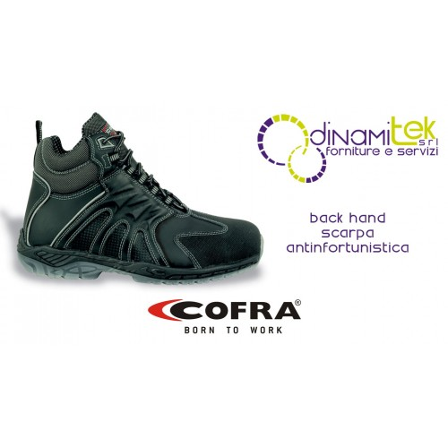 SAFETY BOOT FOR CONSTRUCTION INDUSTRY AND CRAFTS BACK HAND S3 SRC COFRA Dinamitek 1