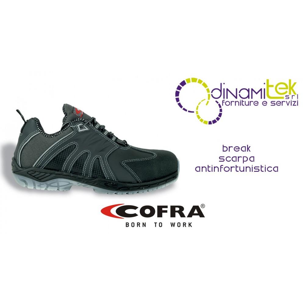 SAFETY SHOE FOR CONSTRUCTION INDUSTRY AND CRAFTS BREAK S3 SRC COFRA Dinamitek 1