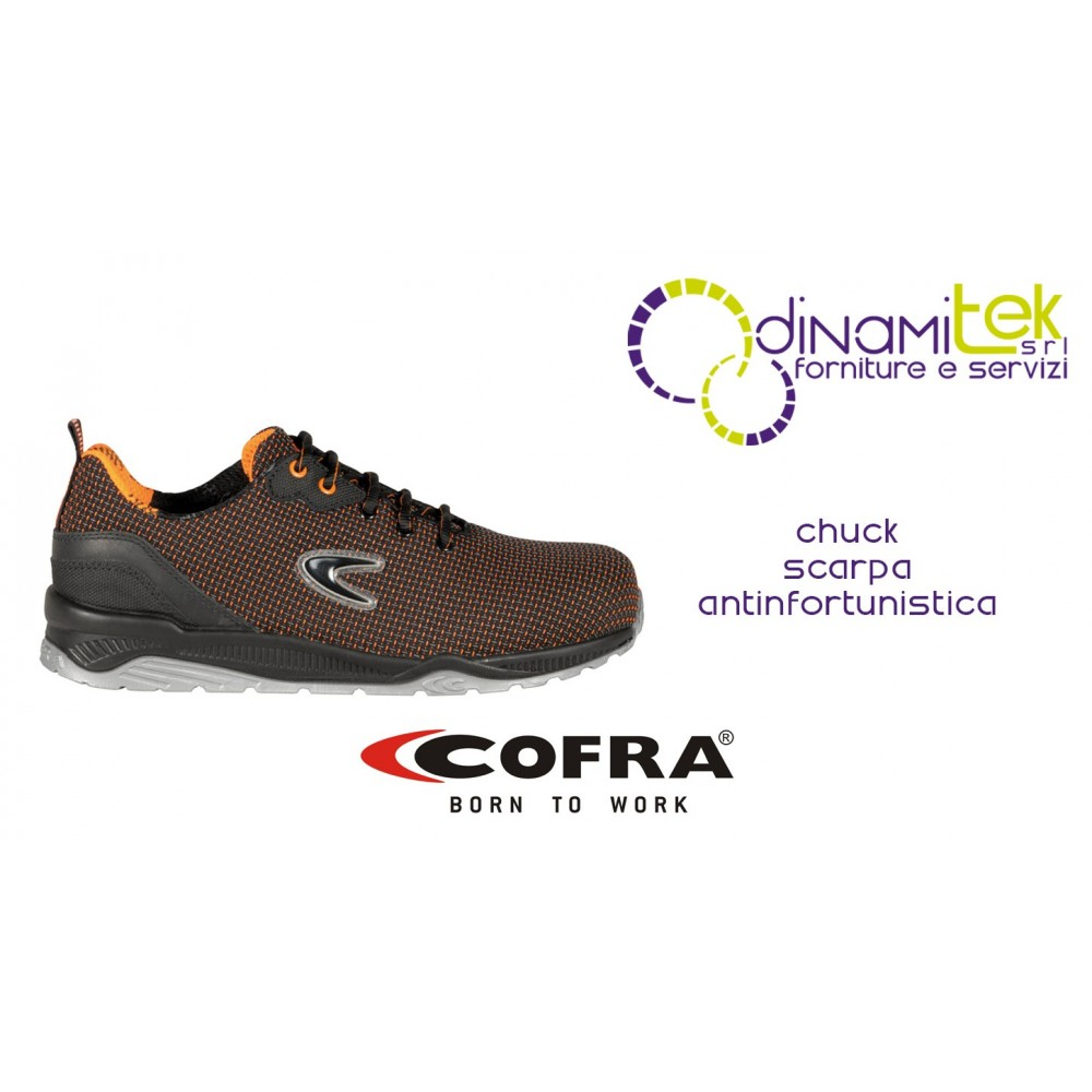 SAFETY SHOE SUITABLE FOR INDUSTRY AND CRAFTS CHUCK S3 SRC COFRA Dinamitek 1