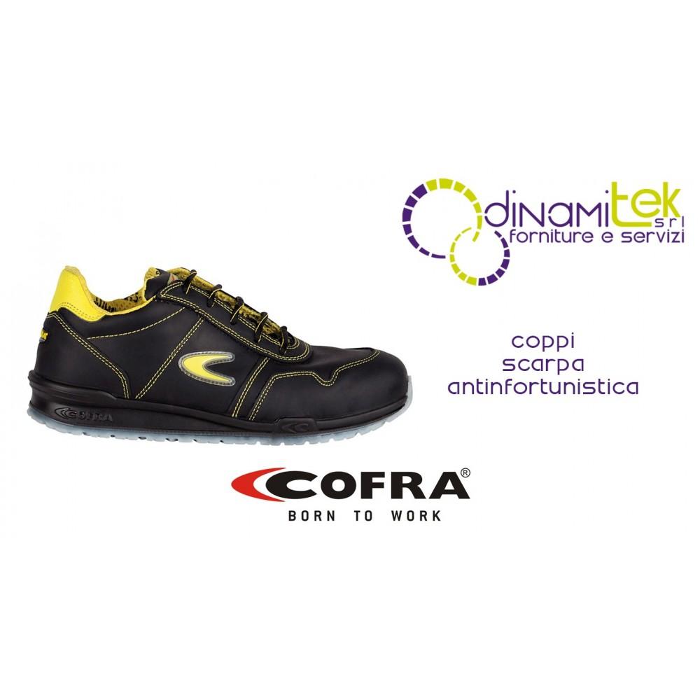 SAFETY SHOE FOR CONSTRUCTION INDUSTRY AND CRAFTS COPPI S3 SRC COFRA Dinamitek 1