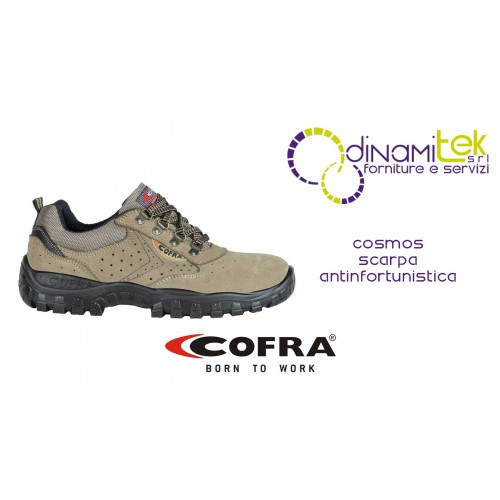 COSMOS S1-P SRC SAFETY SHOE SLIP RESISTANT AND BREATHABLE COFRA FOR SUMMER SEASON Dinamitek 1