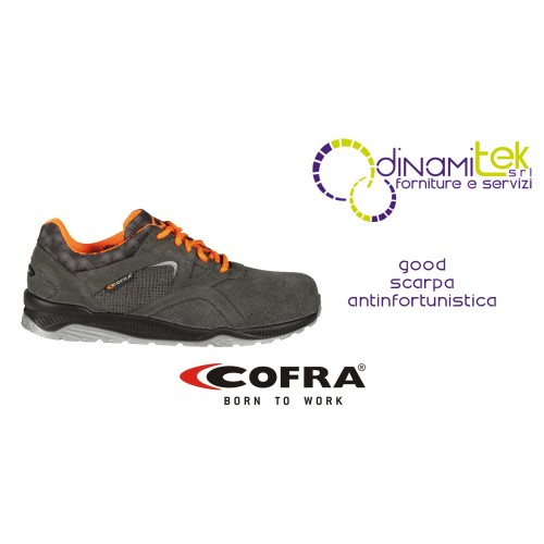 GOOD S1-P SRC SAFETY SHOE COFRA PERFECT FOR CRAFTS AND INDUSTRY Dinamitek 1