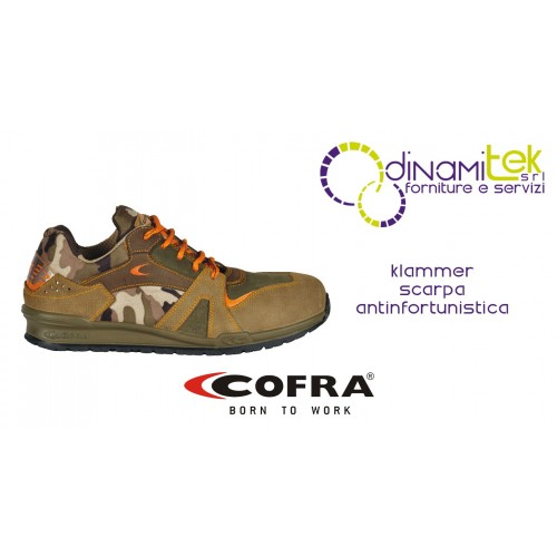KLAMMER S1-P SRC SAFETY SHOE COFRA PERFECT FOR USE ALSO IN AGRICULTURE Dinamitek 1