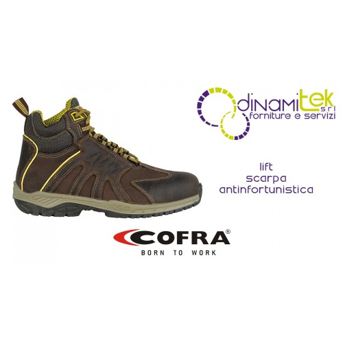 SAFETY BOOT FOR CONSTRUCTION INDUSTRY AND CRAFTS LIFT S3 SRC COFRA Dinamitek 1