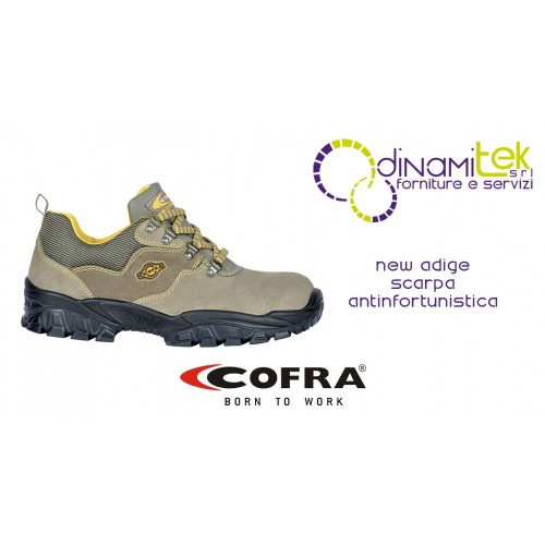 SAFETY SHOE NEW ADIGE S1-P SRC COFRA PERFECT FOR CRAFTSMEN AND FOR AGRICULTURAL WORK Dinamitek 1