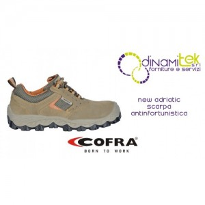 NEW ADRIATIC S1-P SRC SAFETY SHOE COFRA FOR ALL FIELDS OF APPLICATION Dinamitek 1