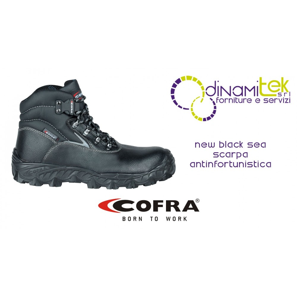 SAFETY SHOE PERFECT FOR ALL FIELDS OF APPLICATION NEW BLACK SEA S3 SRC COFRA Dinamitek 1