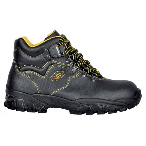 SAFETY SHOE NEW DANUBIO S1-P SRC COFRA TO BE USED IN CONSTRUCTION IN COMPLETE SAFETY Dinamitek 2