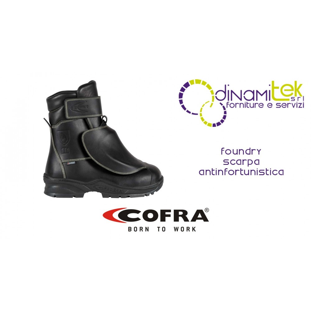 SAFETY BOOT S3 M HI HRO FE AL HI1 SRC FOR FOUNDRY AND STEEL INDUSTRY NEW FOUNDRY COFRA Dinamitek 1